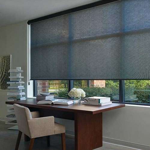 Dual Roller Shades System : Light control american blind shade